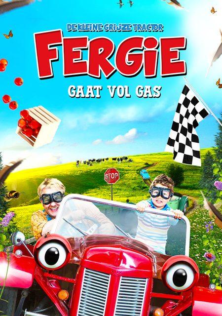 Fergie, de kleine grijze tractor – vol gas!