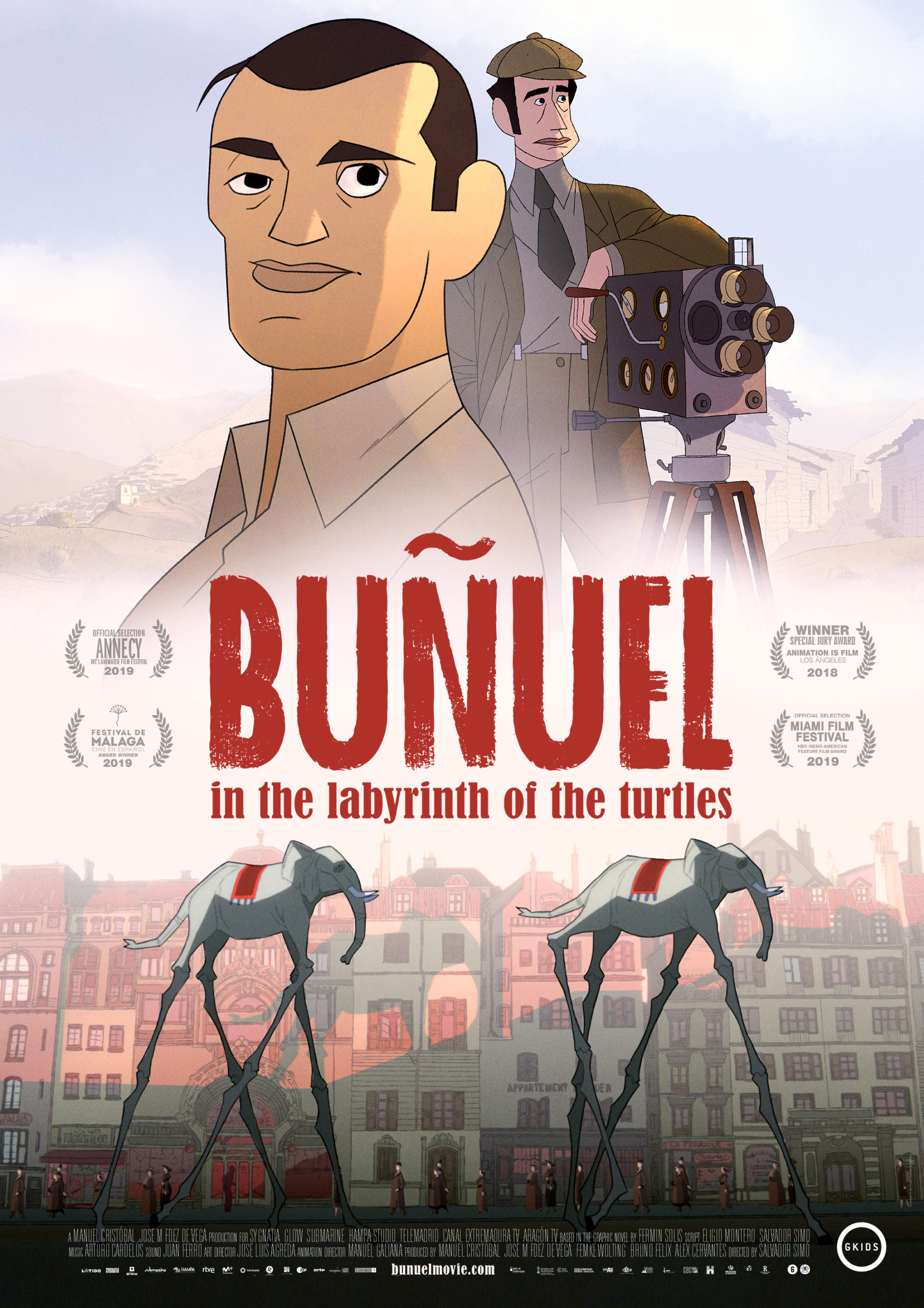 Buñuel in the labrinth of turtles