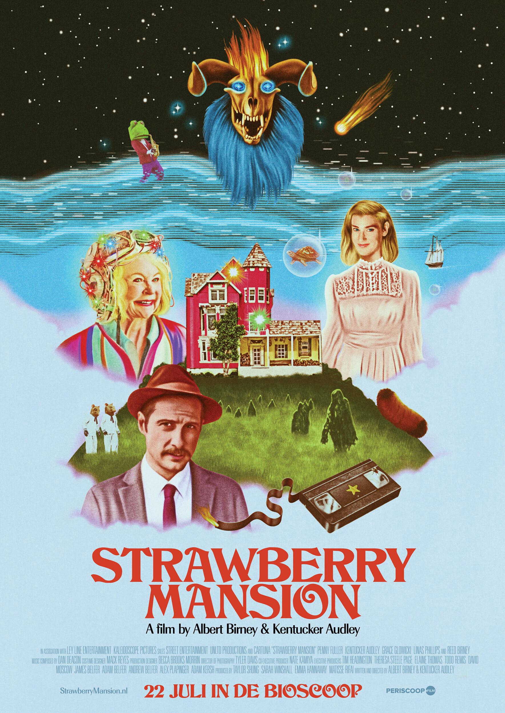 Strawberry mantion